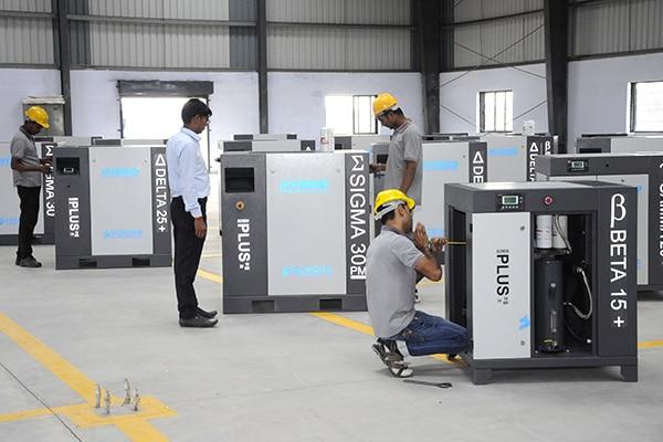 Saimona Compressor - Air Compressor Dealers in Ahmadabad, Gujarat, India